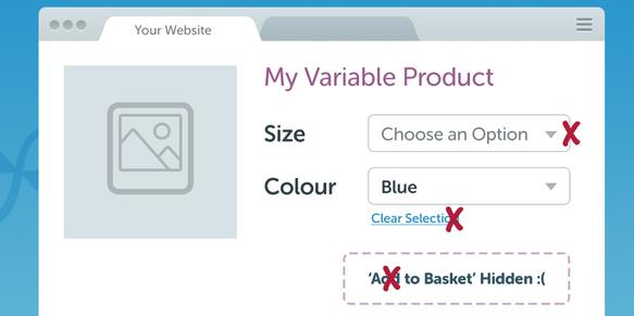 افزونه انتخاب گزینه پیشفرض محصولات متغیر ووکامرس WooCommerce Force Default Variant